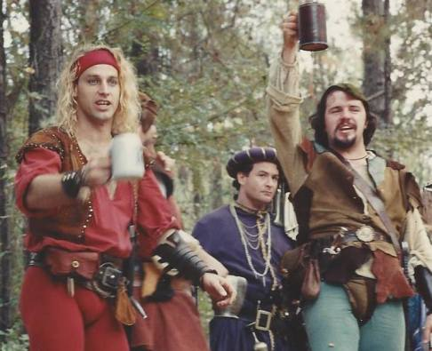 The Robin Hood troupe, 1989