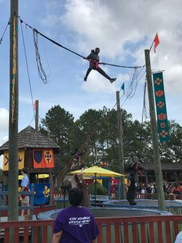Flying at the Texas Renaissance Festival. Up, up and away. (2nd place, Action, Alexas Rocha, Humble MS)